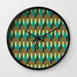 Retro Vacation Pavers Wall Clock