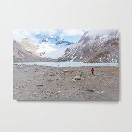 Laguna de los Tres, Patagonia, Argentina Metal Print