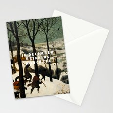 Horchata in the Snow Stationery Cards
