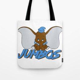 Tufts Jumbos Tote Bag