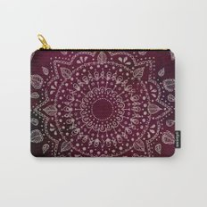 Wine Mandala Carry-All Pouch