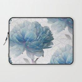 Blue Peony Laptop Sleeve