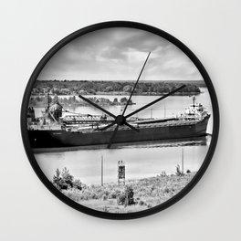 Lee A Tregurtha Wall Clock