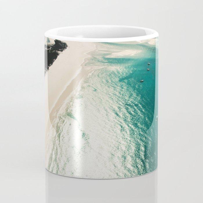 whitsunday island aerial Coffee Mug