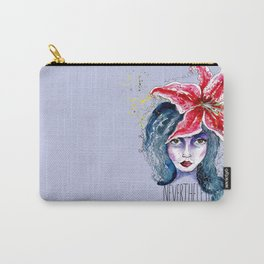 Nevertheless, she persisted I Feminist artwork Carry-All Pouch