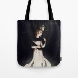 There is no light without darkness Tote Bag