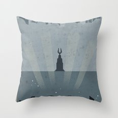 Beyond the doors Throw Pillow