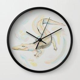 Friendly Lil Gator Wall Clock
