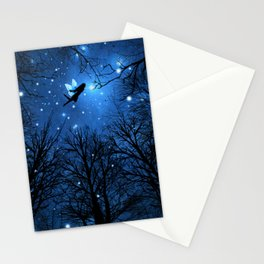 Wisdom Of The Night -The Blue Fairy Stationery Cards