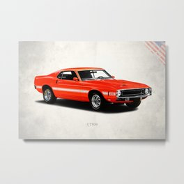 Shelby GT500 Metal Print
