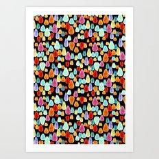 jewel drop Art Print