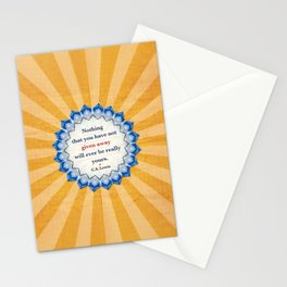 Given Away Stationery Cards