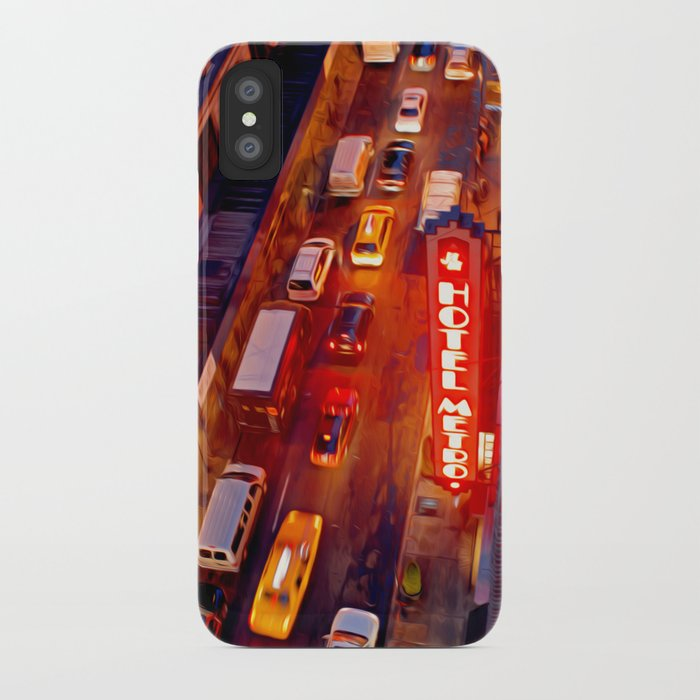 The Hotel Metro iPhone Case