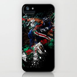 Football Player iPhone Case
