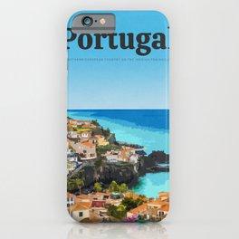 Visit Portugal iPhone Case