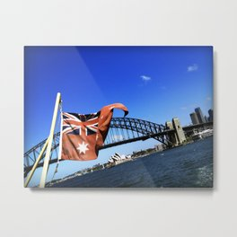 Aussie icons Metal Print