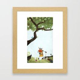 Hero Shot Framed Art Print