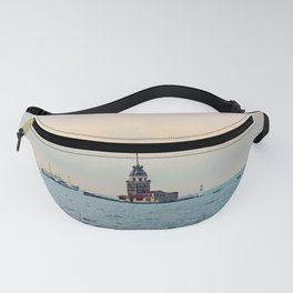 maiden tower in istanbul Fanny Pack