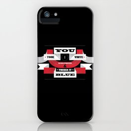 "Lyric Love - ""STRIPES"" iPhone Case"