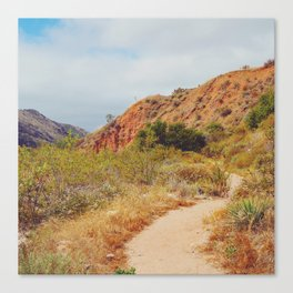 Sandy Trail Canvas Print