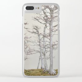 Bonsai Forest Fog Clear iPhone Case
