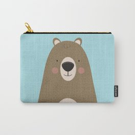 Bears Are Friendly Carry-All Pouch