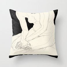 The Night Is Coming Throw Pillow