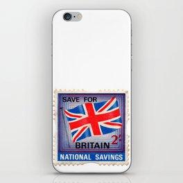 British War Savings Stamps iPhone Skin