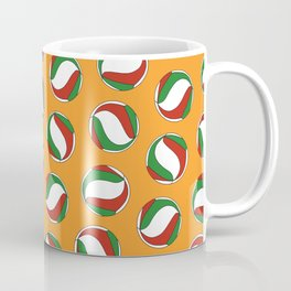 Volleyball Pattern - Haikyuu Coffee Mug