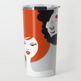 Beauty comes in all colors Travel Mug