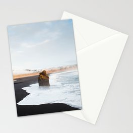 Black Sand Beach, South Iceland Stationery Cards