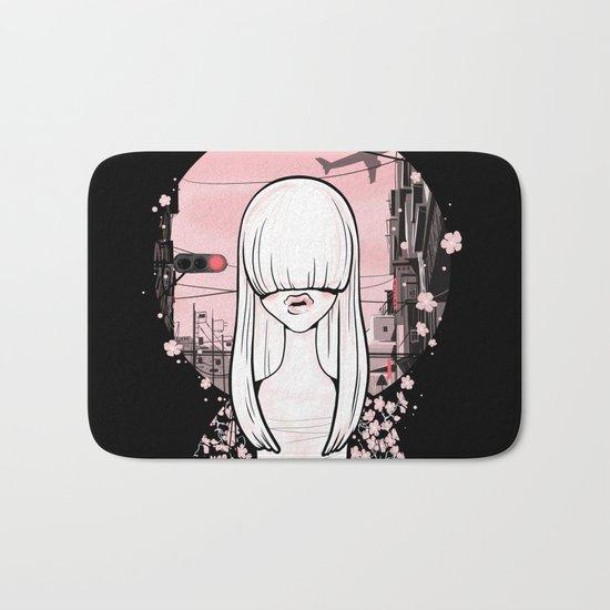 invisible girl Bath Mat