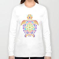 turtle Long Sleeve T-shirts featuring Turtle by ArtLovePassion