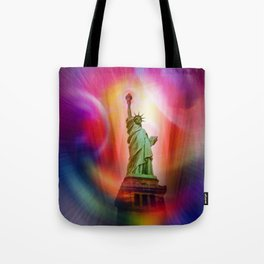 New York NYC - Statue of Liberty 2 Tote Bag