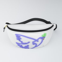 Peace Pigeon Solo - The Copy is a Hommage Fanny Pack