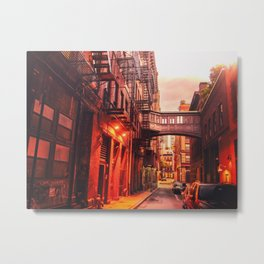 New York City Alley Metal Print