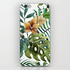 Tropical Floral Pattern 03 iPhone Skin