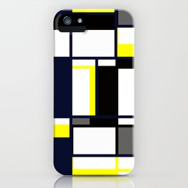 Strict geometry. iPhone Case