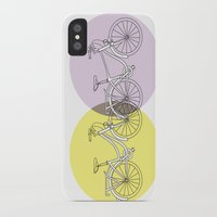 bikes iPhone & iPod Cases featuring BIKES!! by Jean Rim