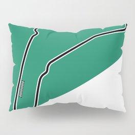 Monza Racetrack  Pillow Sham
