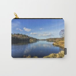 Lake Above The Village Carry-All Pouch
