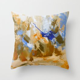 So They Went Throw Pillow