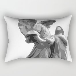 Angel Statue Rectangular Pillow