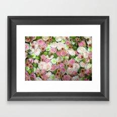Strictly Flowers Framed Art Print