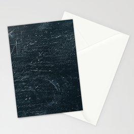 Wooden Dark Stationery Cards