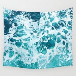 Ocean Splash IV Wall Tapestry