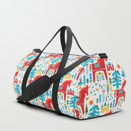 Scandinavian Inspired Fairytale - Bright Duffle Bag