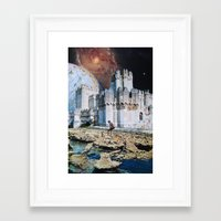 team fortress Framed Art Prints featuring Fortress by John Turck