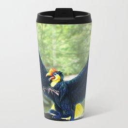 Wrinkled Hornbill Gryphon Travel Mug