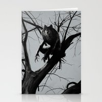 werewolf Stationery Cards featuring Werewolf by Alex Perkins